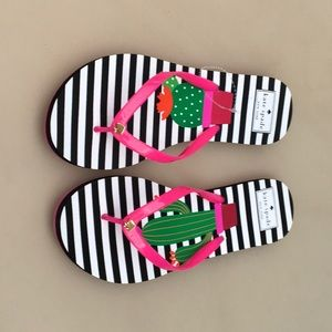 KATE SHARED CACTUS FLIP FLOPS